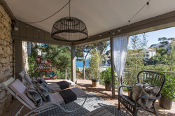 Terrasse suite familiale