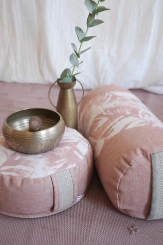 Palmenblatt rosa