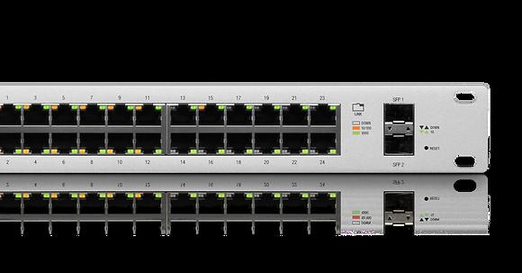 UniFi Managed 8/16/24/48 PoE+ Gigabit Switch