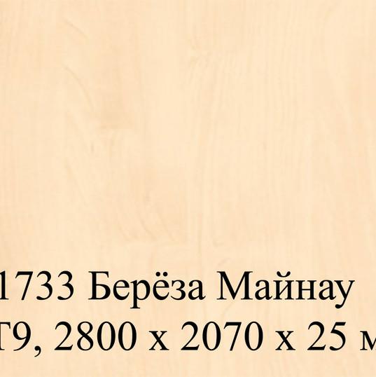 H1733 Берёза Майнау ST9, 2800 х 2070 х 2