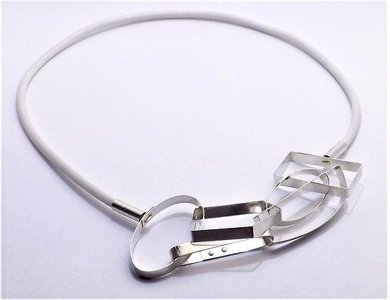 Geo Links Necklace