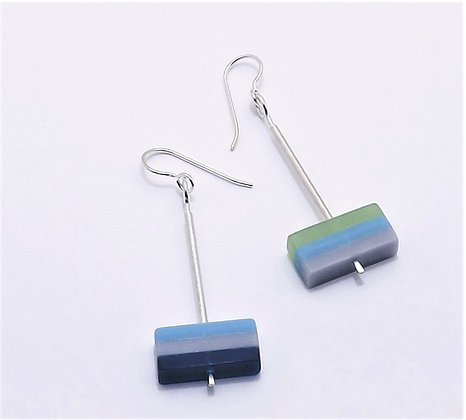 Color Block Earring