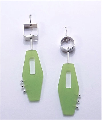 Tension Top w/ Acrylic Drop Earring