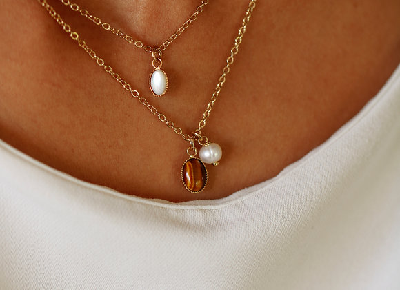 Collier Louise perle