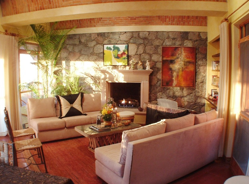 Living Room at Casa de la Paz!