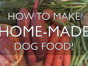 How to Make Home-Made Dog Food
