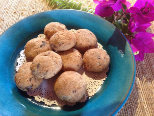 Almond Pulp Coconut Macaroons