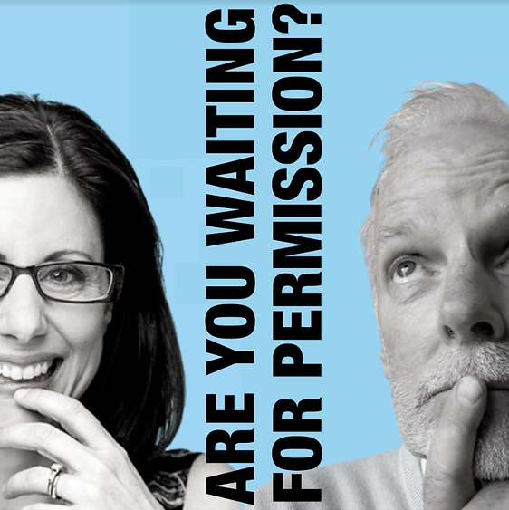 Podcast are you waiting for permission? With Meridith Grundei and Joseph bennett