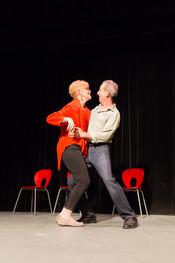 Kate Rowland and Eli Hans at Teatro Santa Ana...