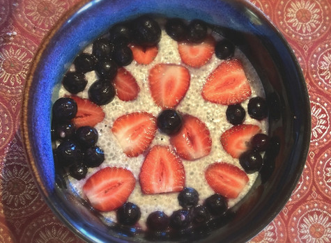 No-Bloat Chia Pudding or Porridge!