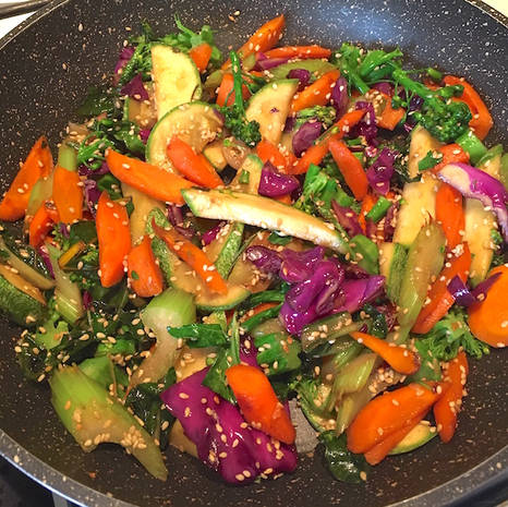 Exotic Stir Fries