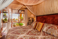 Super comfy canopy king bed