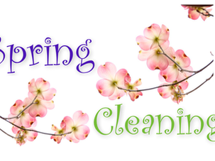 Spring Cleaning? Here's a great place to start!