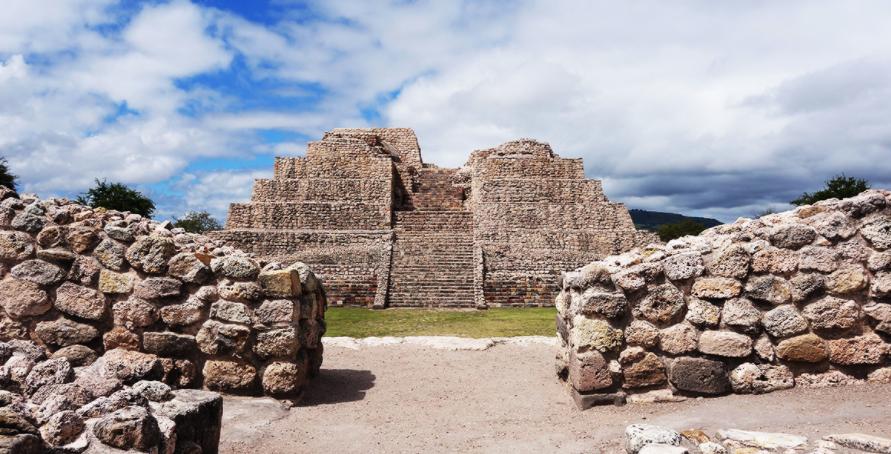 """This is the local pyramid """"Cañada de la Virgin"""""""
