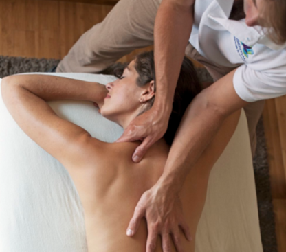 Our on-site massage studio welcomes you...