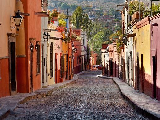 Charming Sa Miguel street