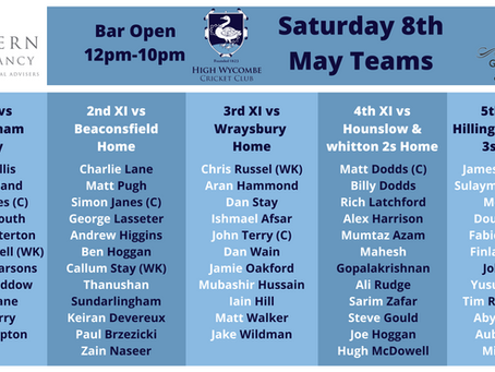 League Season Kicks off Saturday 8 May