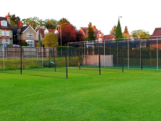 High Wycombe Put Up New Nets Thanks to Donation Made by Beaufort Financial