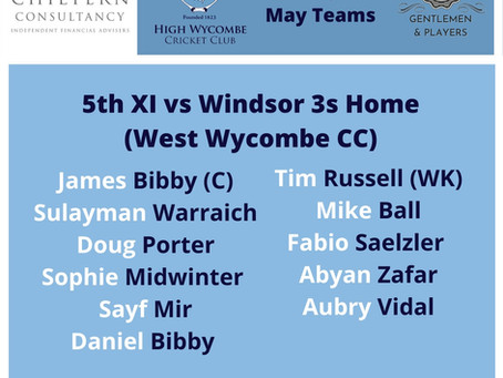 High Wycombe 5th XI Match Report