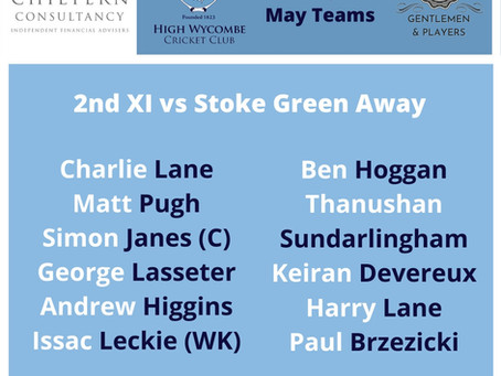 High Wycombe 2nd XI Match Report