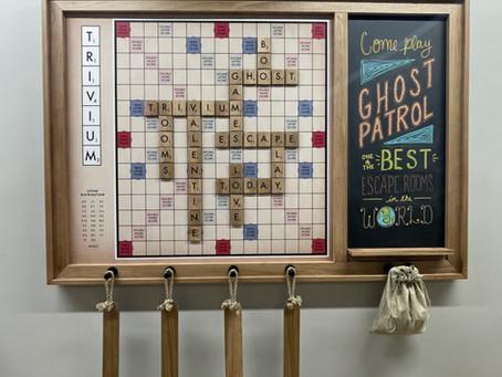Making Giant Scrabble!