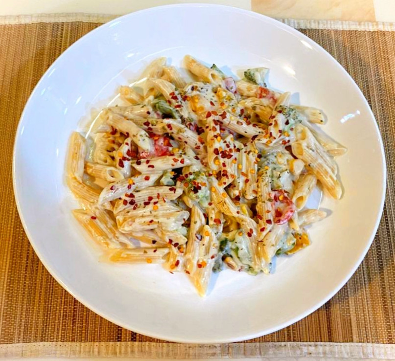 easy white pasta recipe, white pasta recipe video, easy white pasta recipe in 3 min