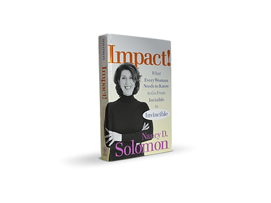 Impact Book Nancy D. Solomon Leadership Training Expert Author CEO