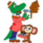 PerCorso Verde_cheburashka-gena_Quadrato
