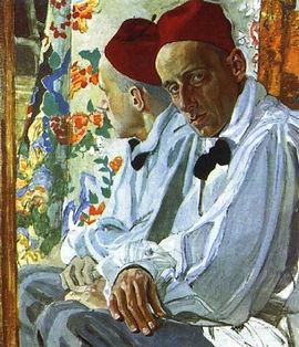 Portrait of Meyerhold Alexander Golovin