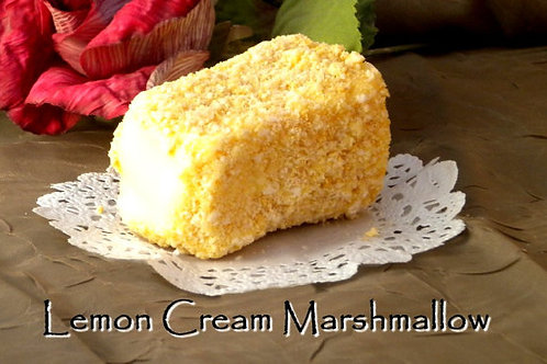 Lemon Cream MarshMallows