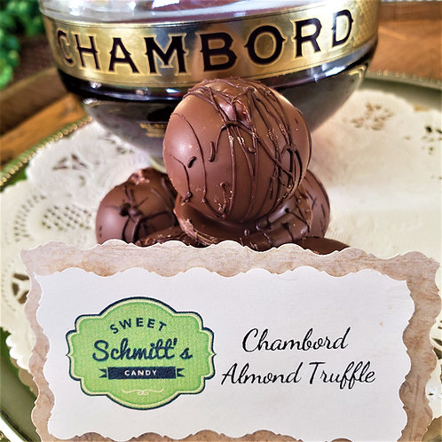 Chambord Almond Truffle
