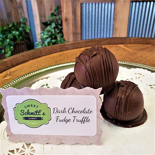 Dark Chocolate Fudge Truffle