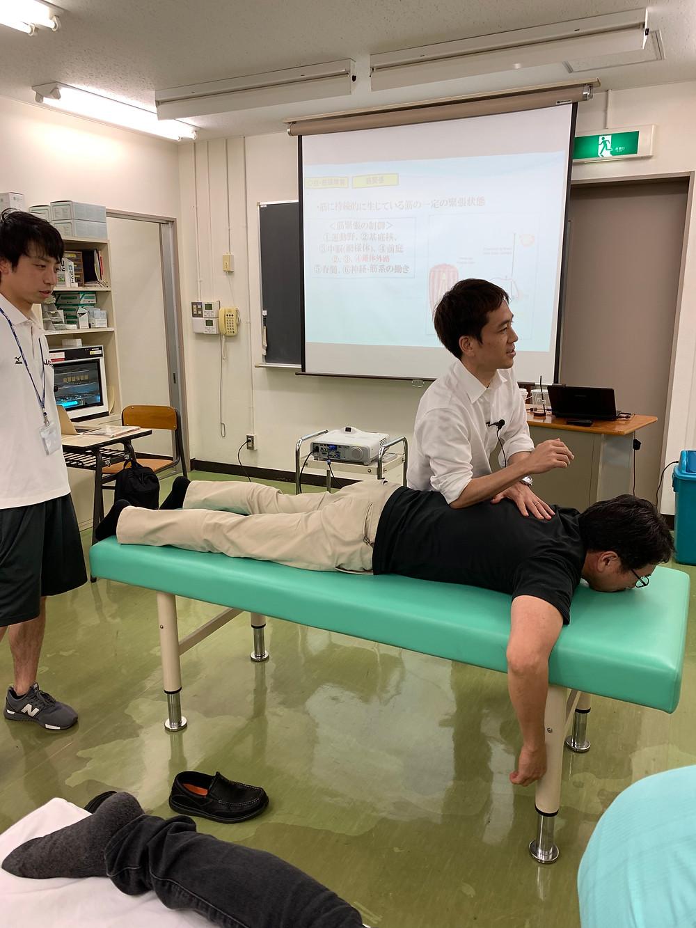 成田先生と金岡先生
