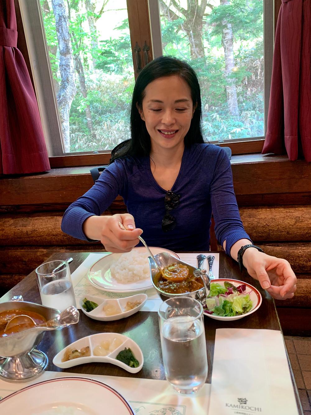 上高地帝国ホテル(昼食)