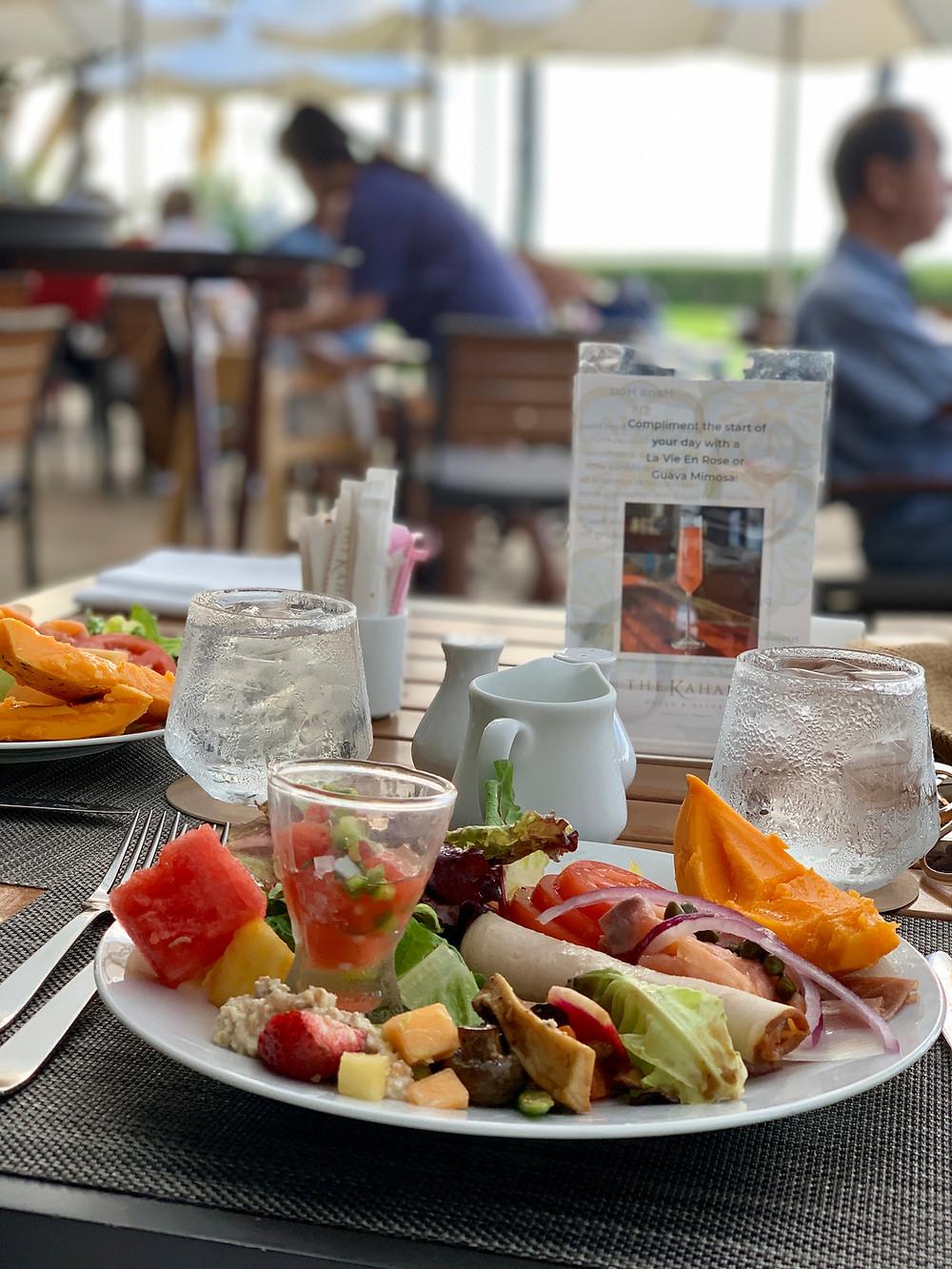 カハラホテル朝食