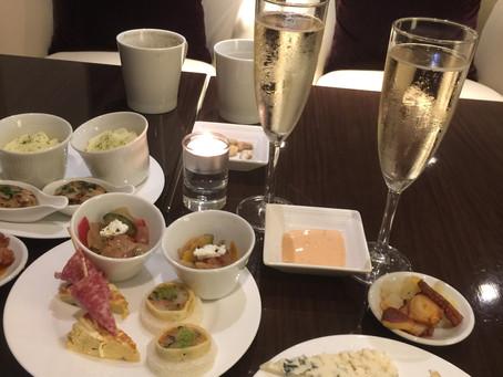 ちょっと一息。Hilton東京 Executive Lounge