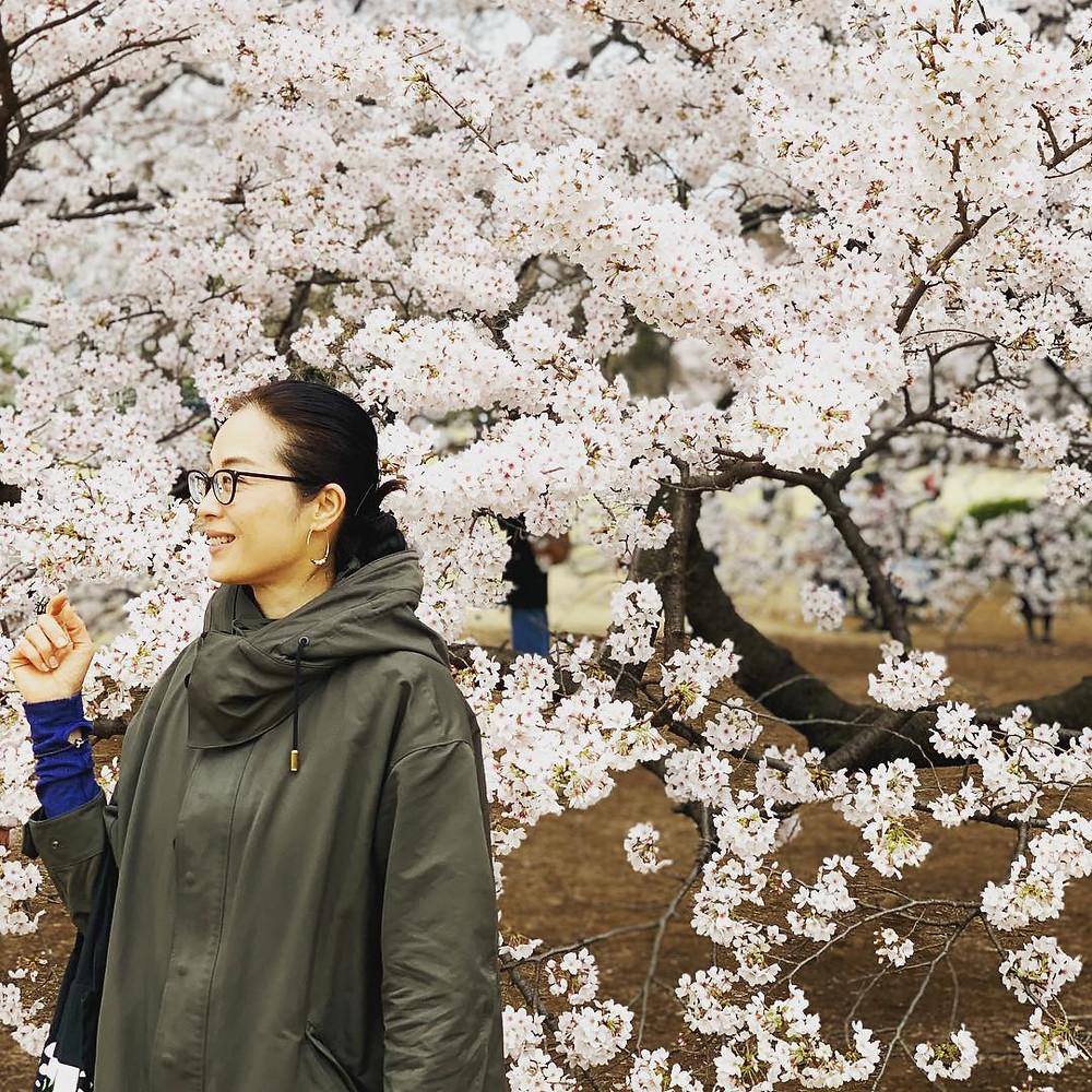 新宿御苑お花見2019