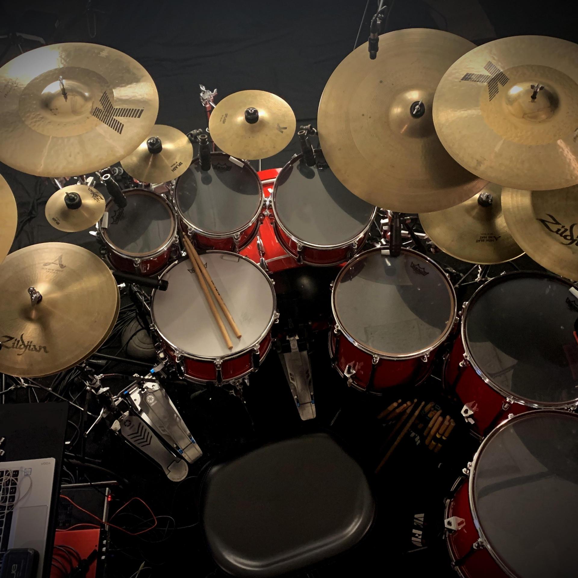 Mike Vanderhule - Studio Set-Up Overhead