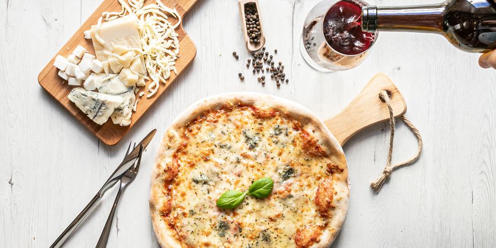 Pizza e vinho, Pizzeria Casa Rosa, Palmela