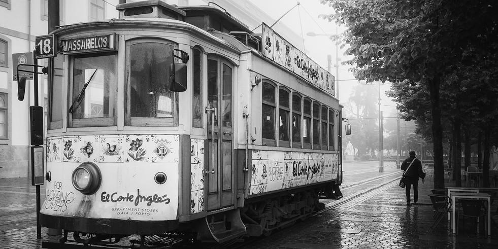 Elétrico do Porto. Acervo pessoal.