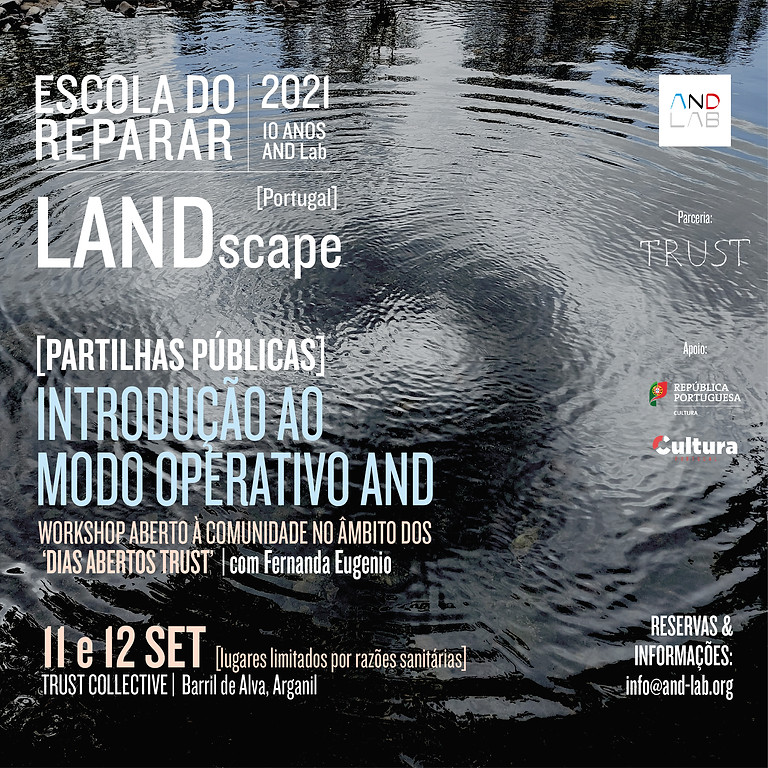 LANDscape - Partilhas Públicas  | Introdução ao Modo Operativo AND