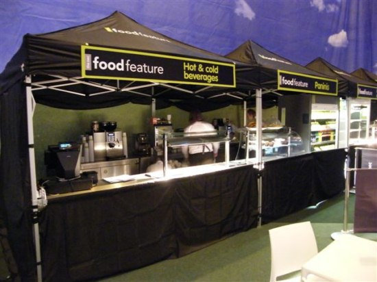 Food Stall with a 3m x 3m Marquee - 1 Day Monday
