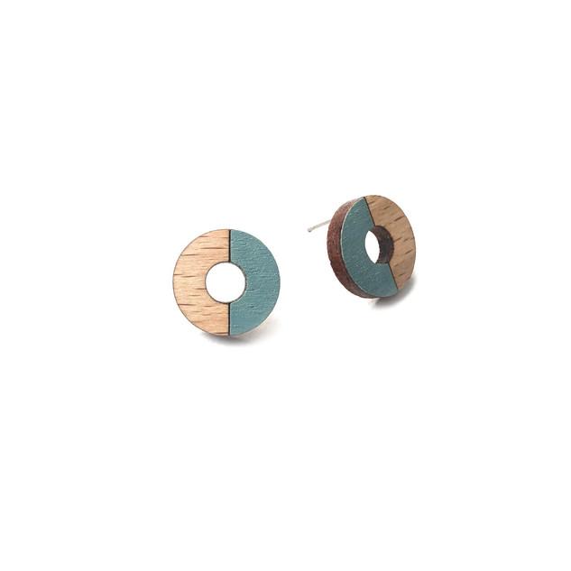 dřevěné kruhy