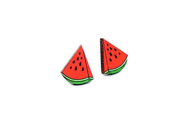 Náušnice melouny