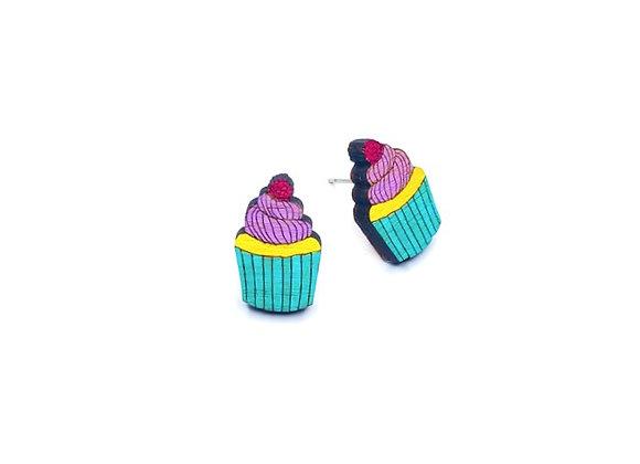 Náušnice dortíky