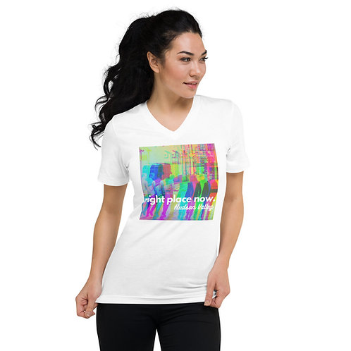 Women's 'Right Place Now' V-Neck T-Shirt