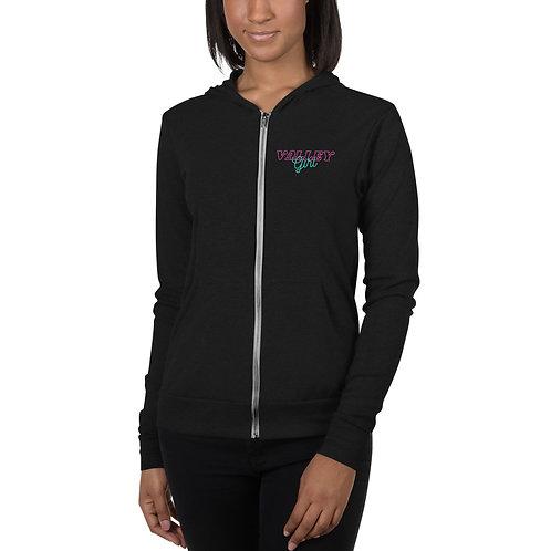 Women's light zip hoodie