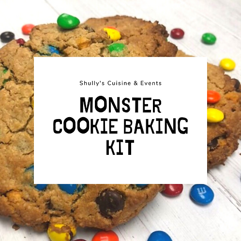 Monster Cookie Baking Kit - GF