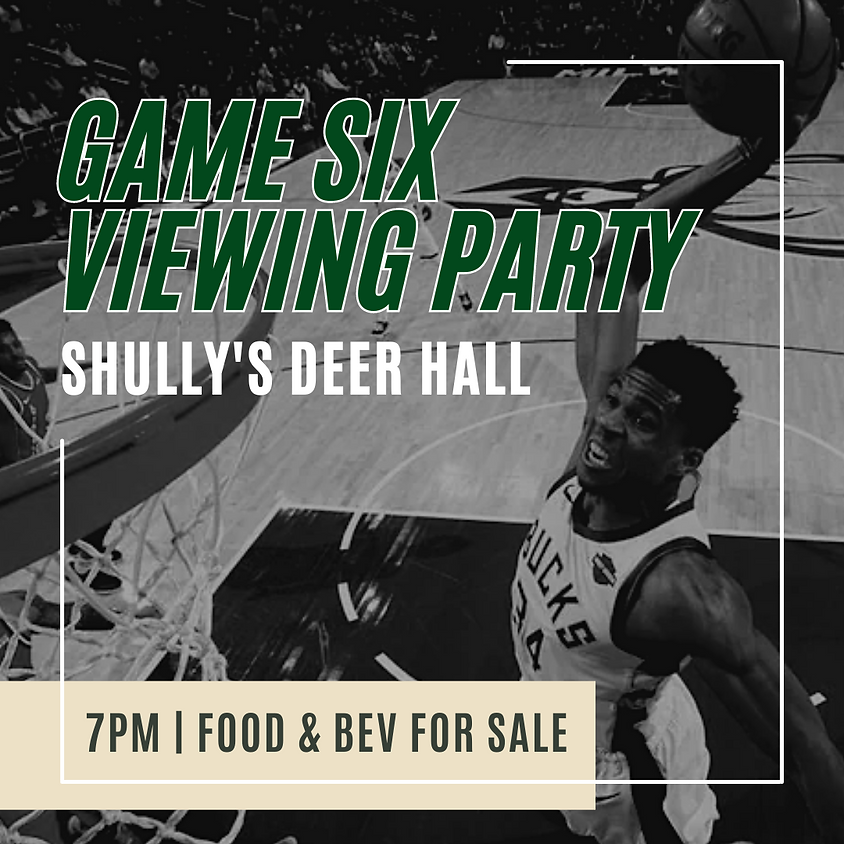 Buck's Viewing Party [GAME 6]