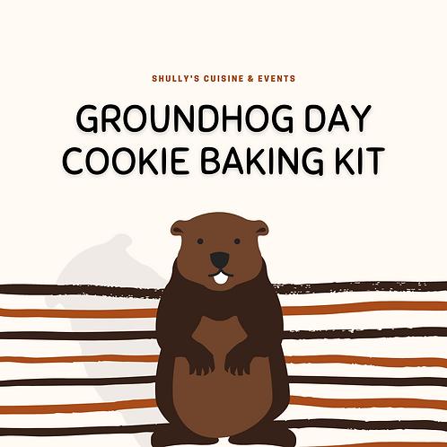 Groundhog Day Cookie Baking Kit